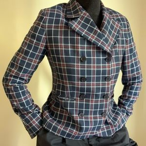 Moods of Norway Double Breasted Checked Blazer 6